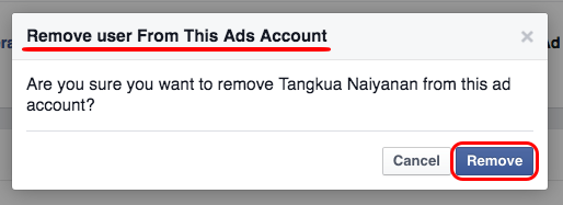 Remove Consultant from your Facebook Advertising Account