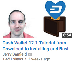Dash Wallet 12.1 Tutorial from Download to Installing and Basic Use!