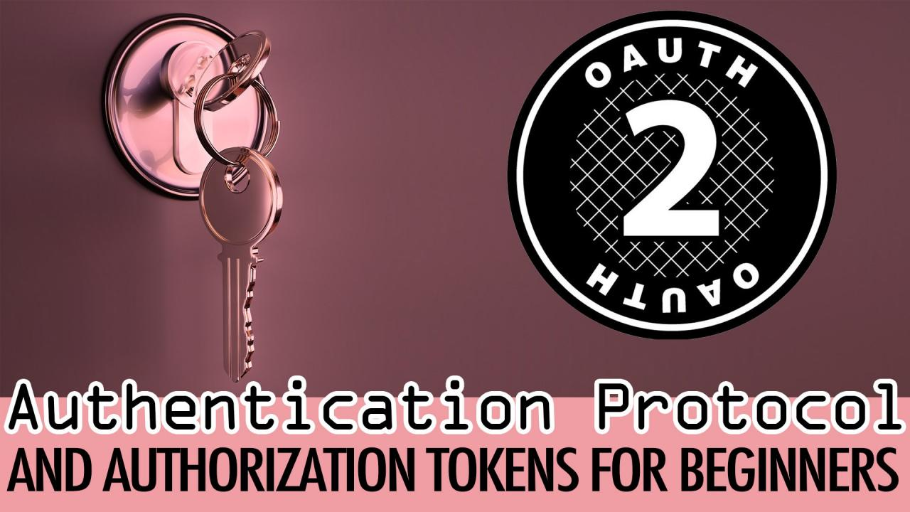OAuth 2.0 Authentication Protocol and Authorization Tokens for Beginners